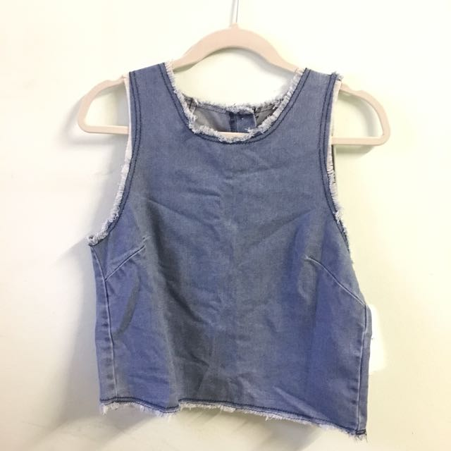 BNWT Cotton On Denim Top