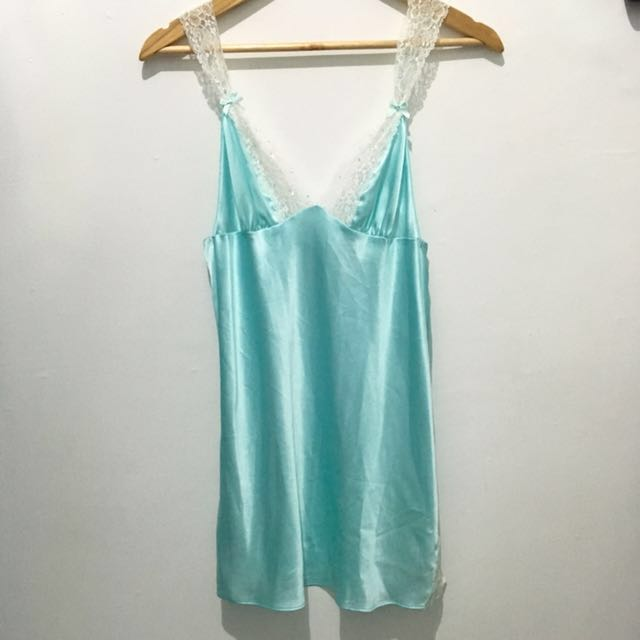 BNWT Victoria's Secret VS Mint Green Teal Lingerie Nighties