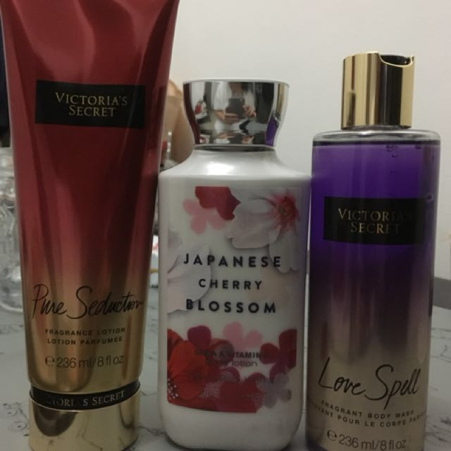 Body Lotion and Body Wash