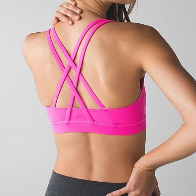 a423d57db0 BRAND NEW WITH TAG Lululemon Energy Bra Hot Pink