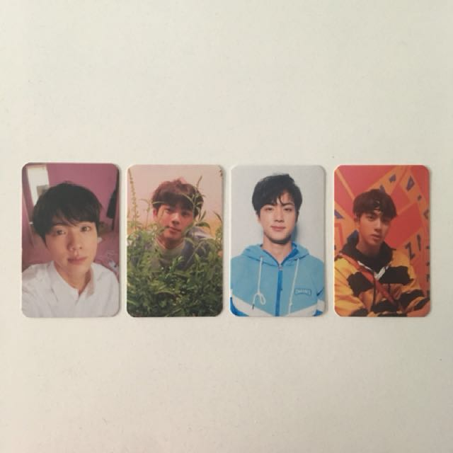 BTS Love Yourself Her Photocards (Jin)