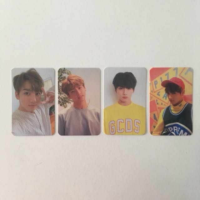BTS Love Yourself Her Photocards (Jungkook)