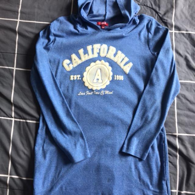 Cali long hoodie