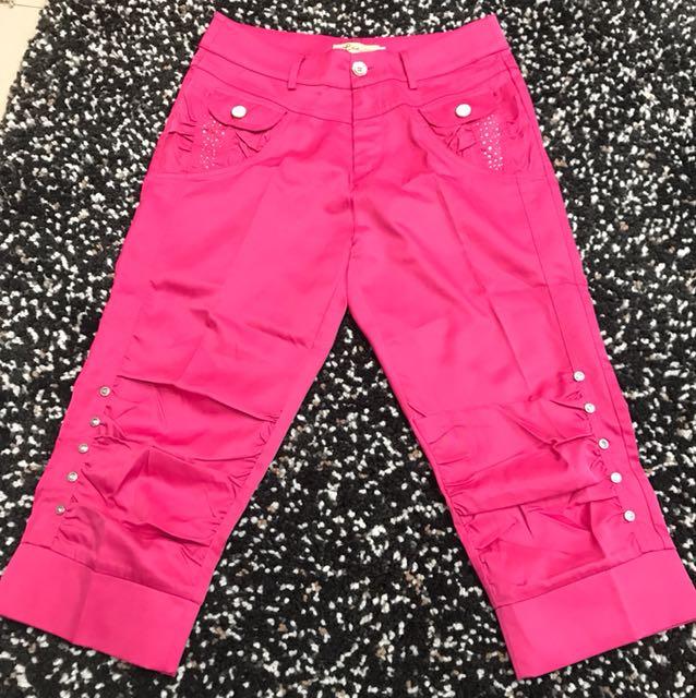 Celana 3/4 Shock Pink