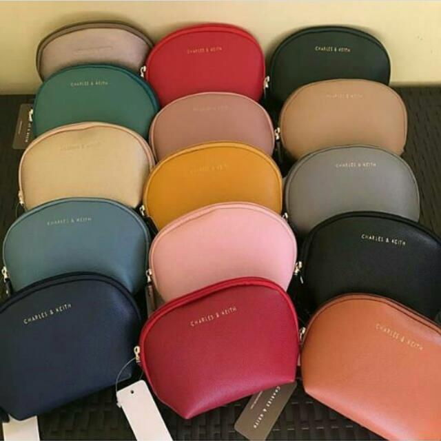 Charles And Keith Cosmetic Pouch