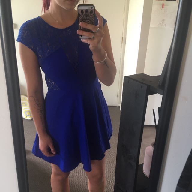 Chicabooti blue dress