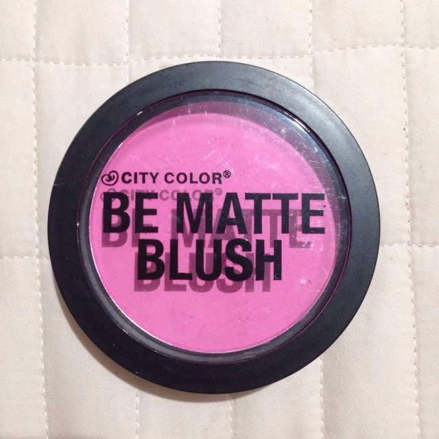 City color be matte blush (NEW)