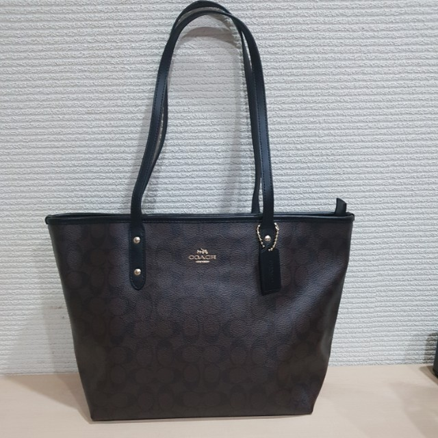 Coach City Zip Tote Authentic