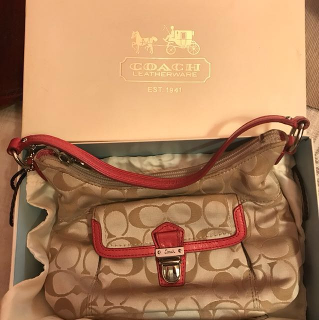 Coach small bag Authentic