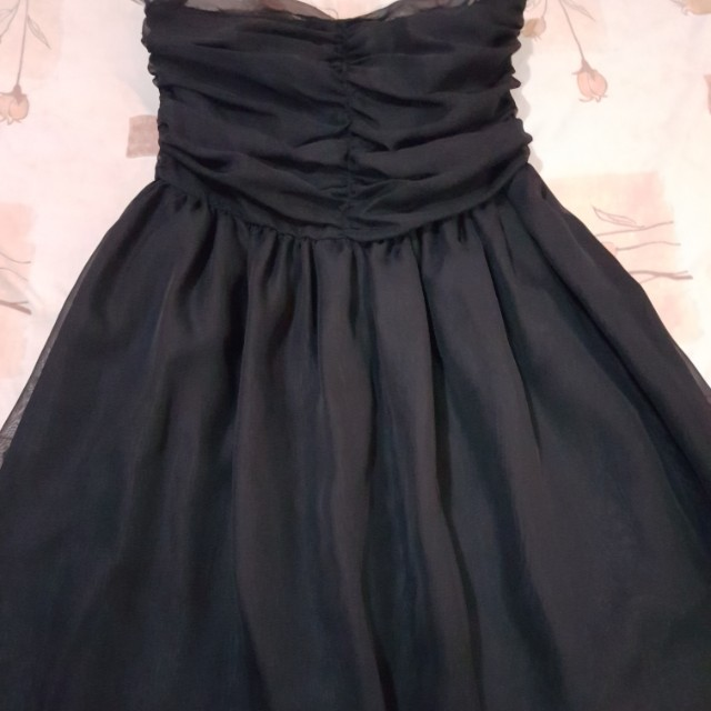 Cocktail gown black