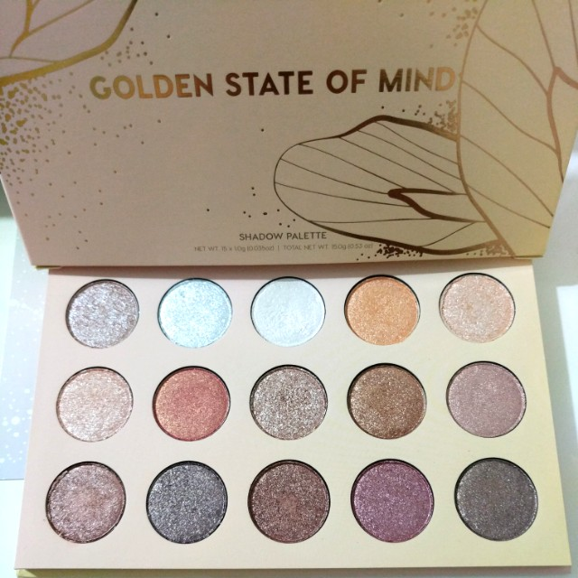 Colourpop GOLDEN STATE OF MIND  Pressed Powder Shadow Palette