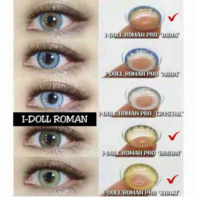 Contact Lens i doll roman