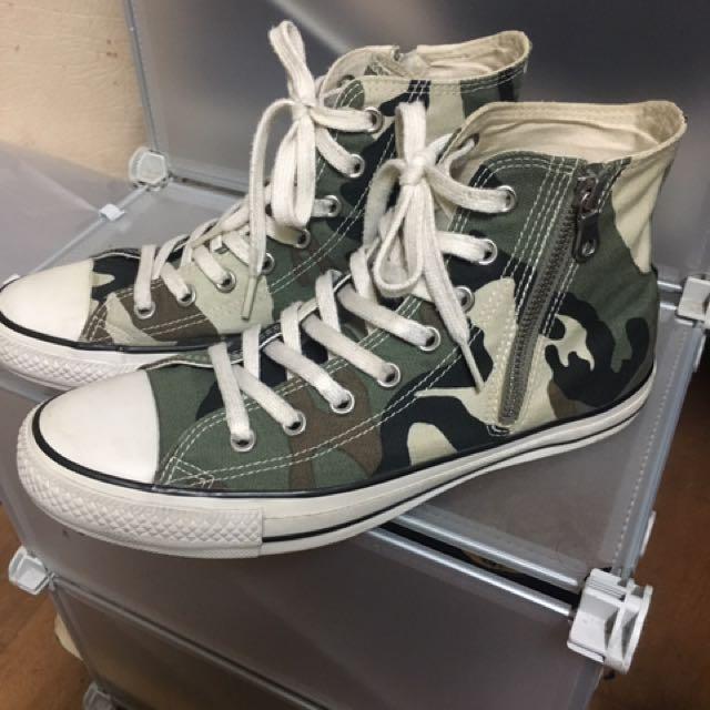 converse x sophnet 拉鍊迷彩帆布鞋 cdg 1970 wtaps 可參考