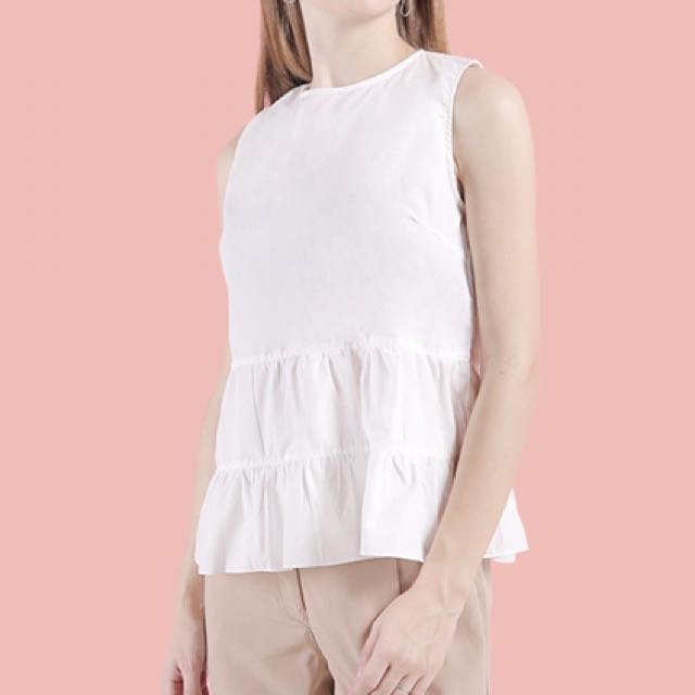 Cotton Ink - White Top