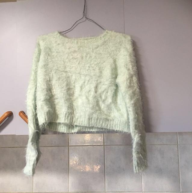 Cotton On Fluffy crop jumper