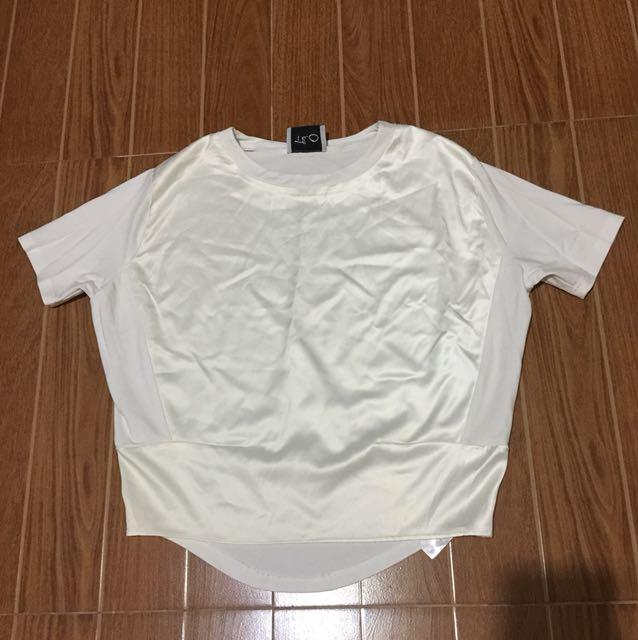 Cream blouse small to medium