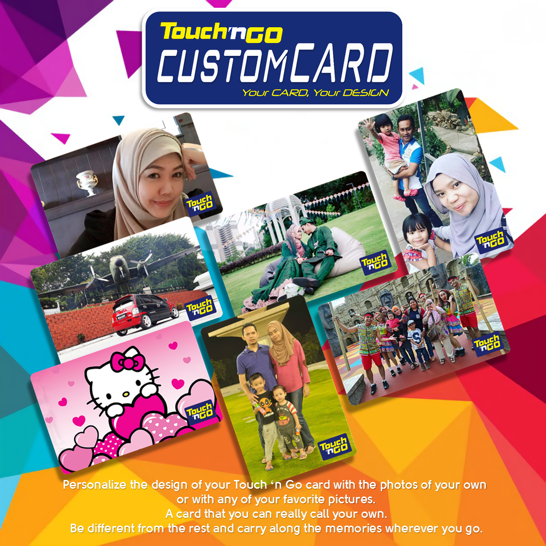 Custom Card Touch N Go Design Craft Others On Carousell