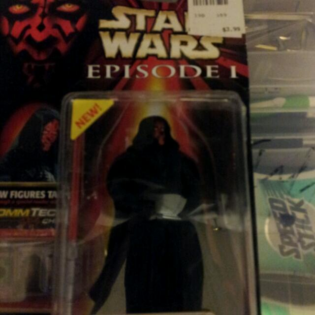 Darth Maul Star Wars Action Figure 20yrs Old...