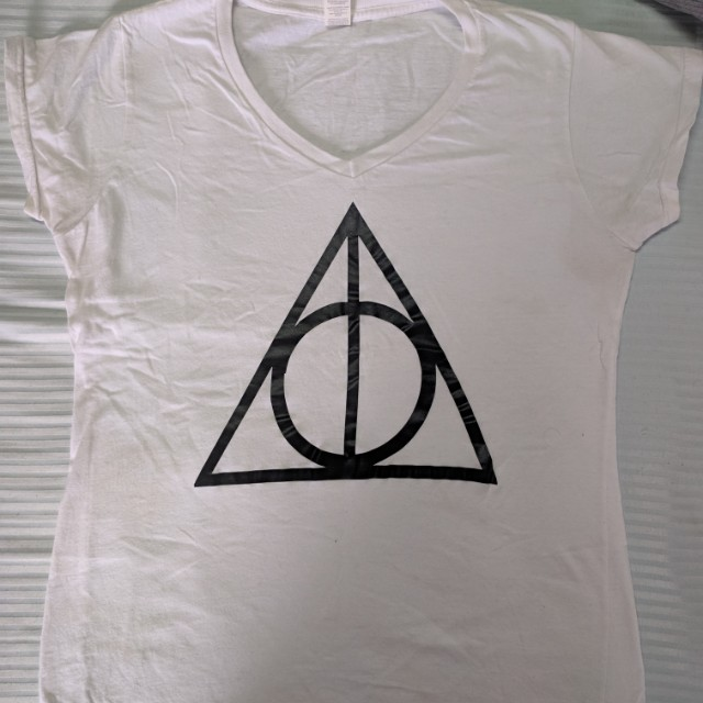 Deathly Hallows Harry Potter Tee