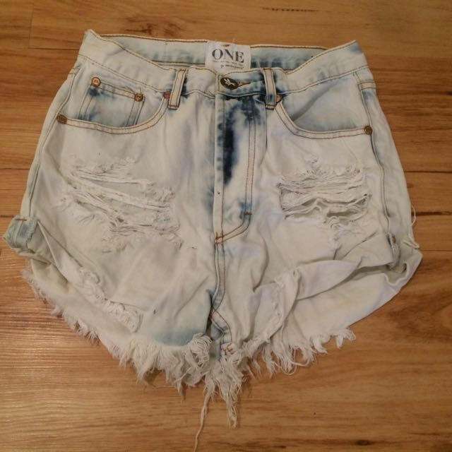 Denim Shorts- one teaspoon