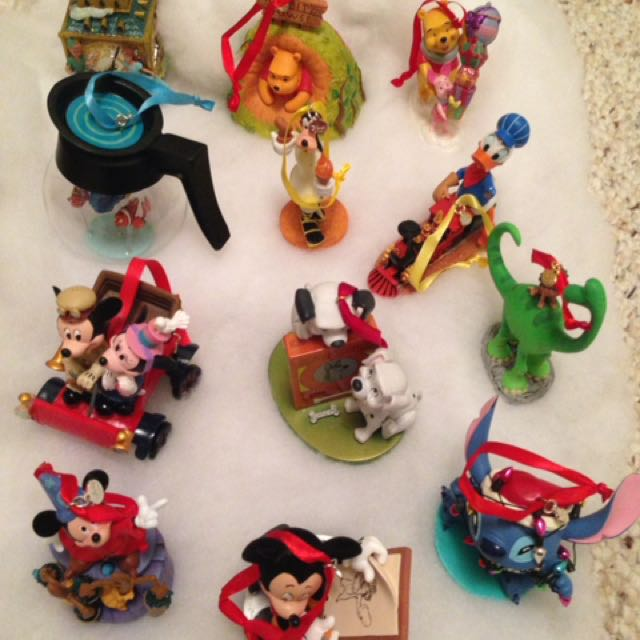 Disney Christmas Ornaments (12 pcs)