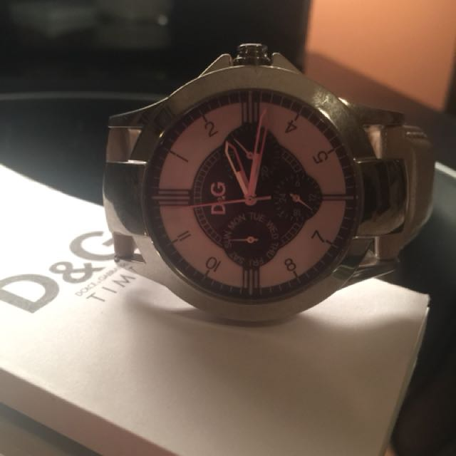 Dolce & Gabanna Nude Leather Watch