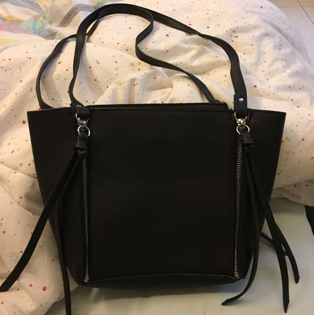 Doxology Black bag / mini tote