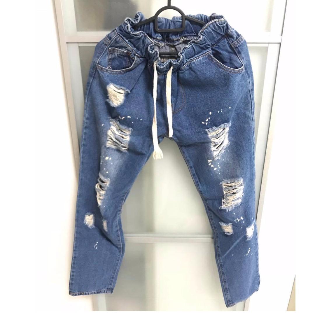 String jeans, tribe porn video