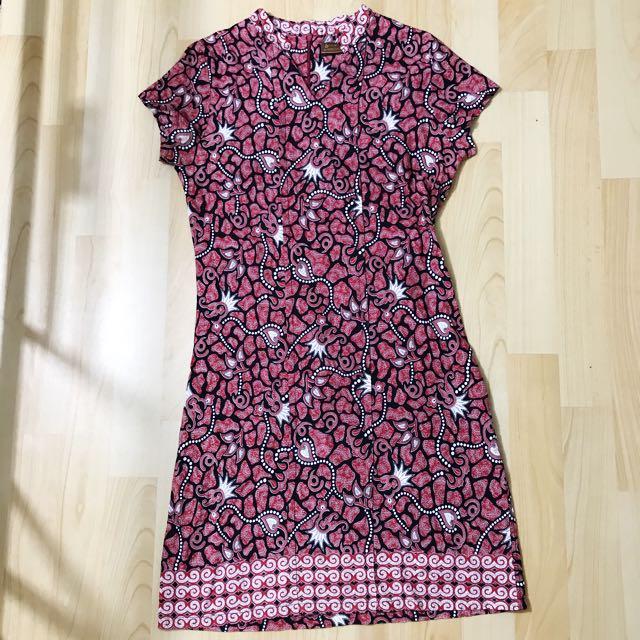 Dress batik semata wayang