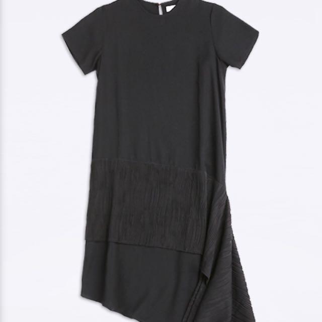 Dress Black Cotton Ink