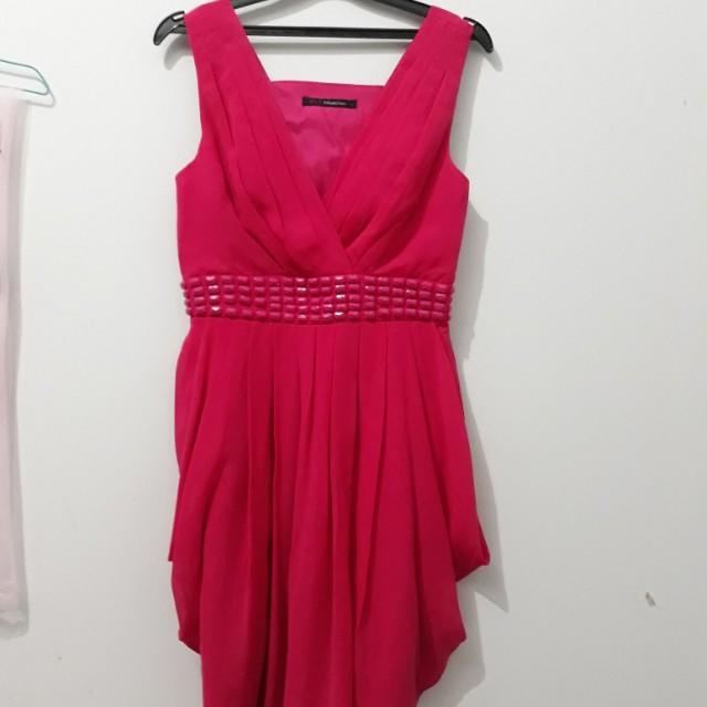 Dress pink fuscha BLF