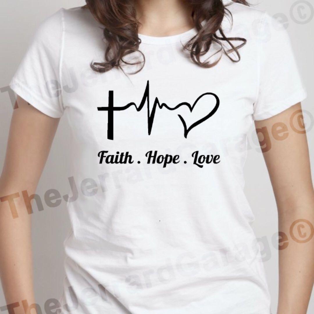 Faith Hope Love Top