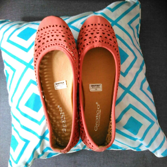 Flat Shoes Dusty Pink