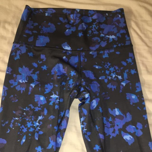 Floral High Rise Lululemon Leggings