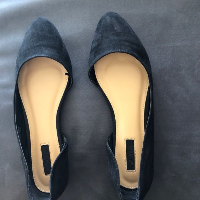 Forever 21 Flats (only worn once)