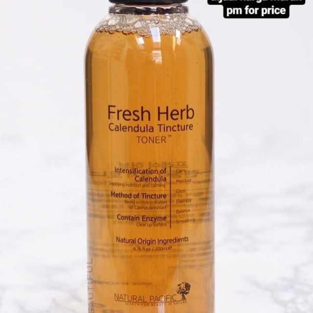 fresh herb toner