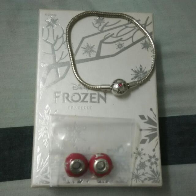 Frozen Bracelet And Charms