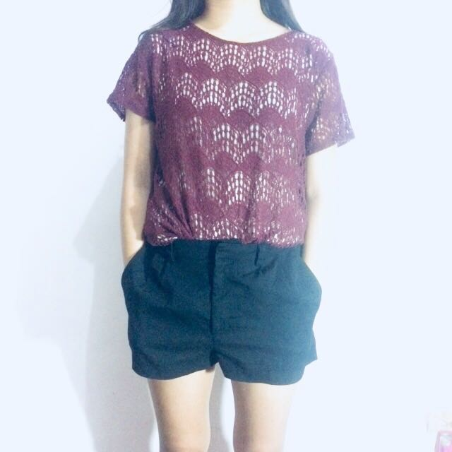 Full laced long tee