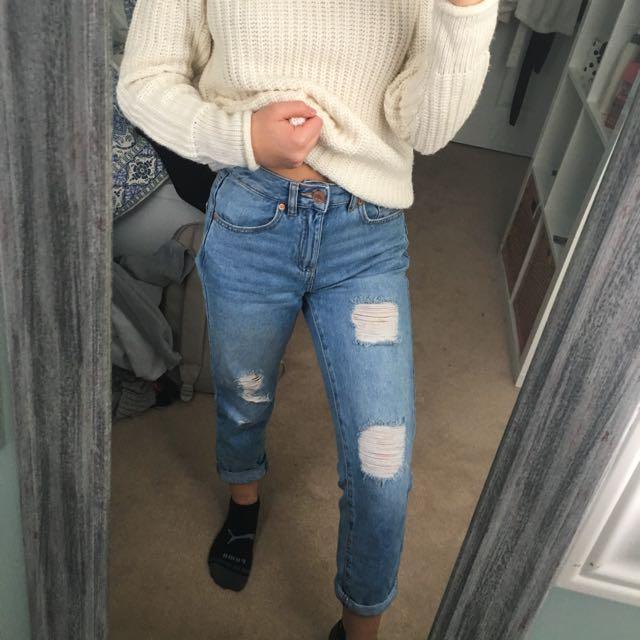 Garage mom jeans