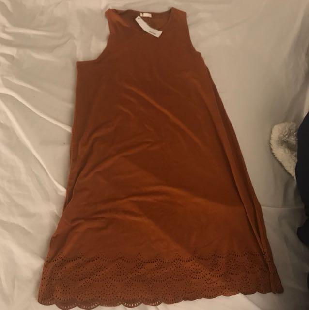 Garage suede dress