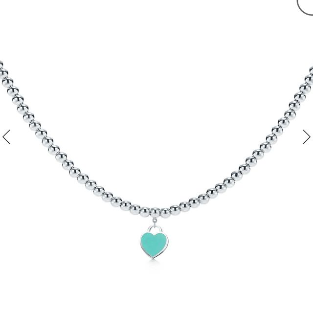 Genuine Tiffany & Co bead necklace rrp $415
