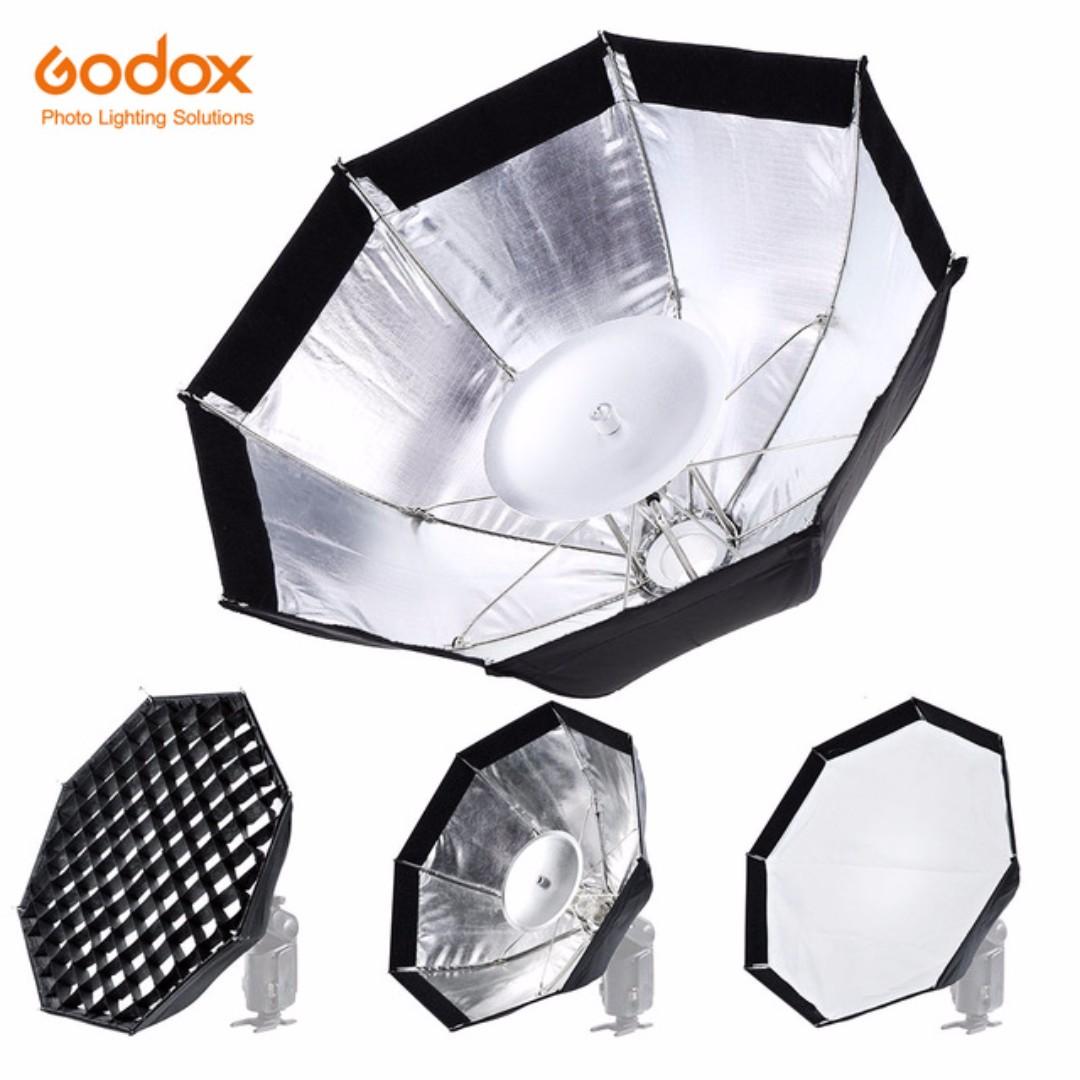 Godox AD-S7 Octagonal Honeycomb Umbrella Softbox for WITSTRO AD180/AD360