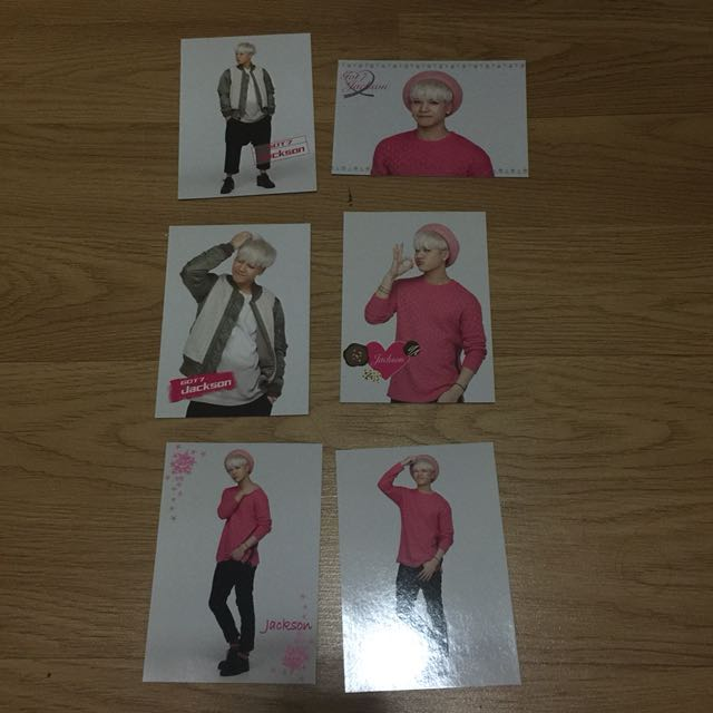 GOT7 Japan Tour Trading Cards - JACKSON