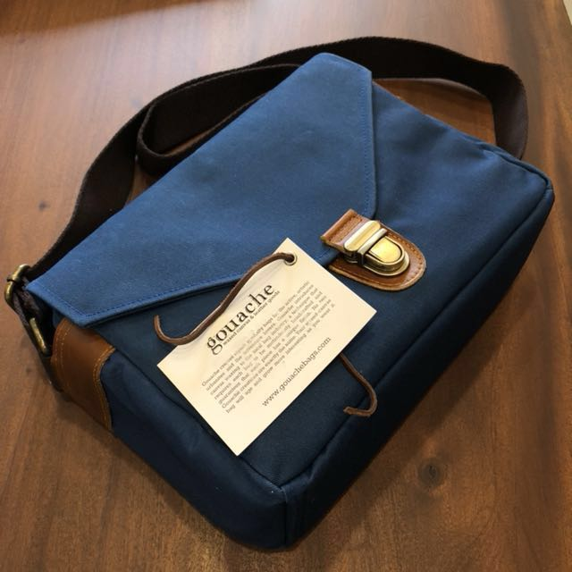 Gouache Camera Bag Waxed Canvas Henry's (Brand New)
