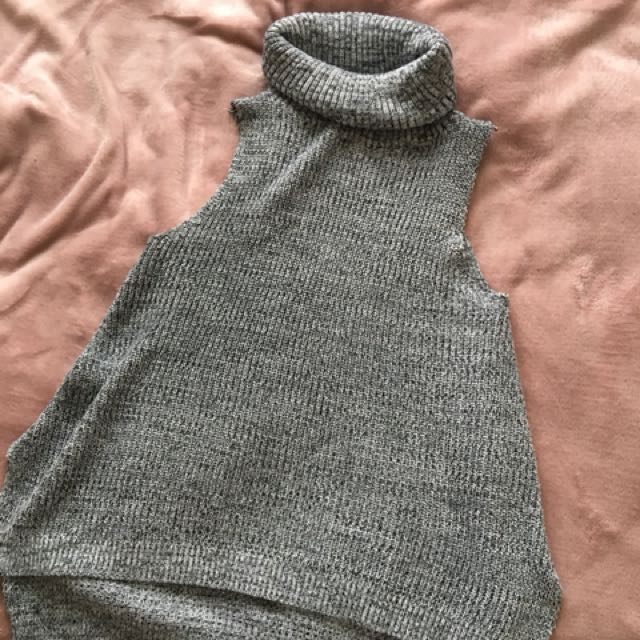 GREY TURTLE NECK SIZE XS