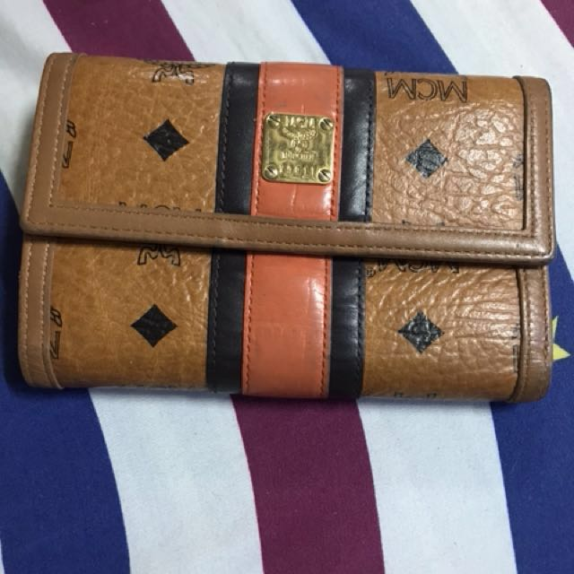 Guaranteed authentic mcm wallet