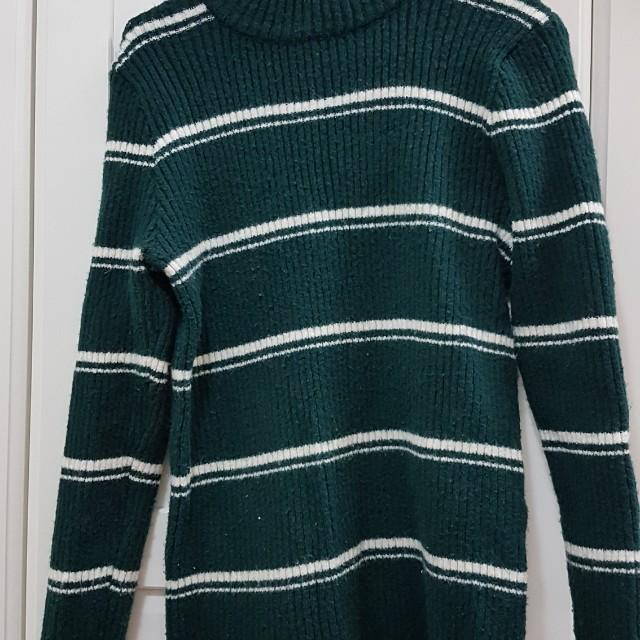 H-connect 橫條毛衣