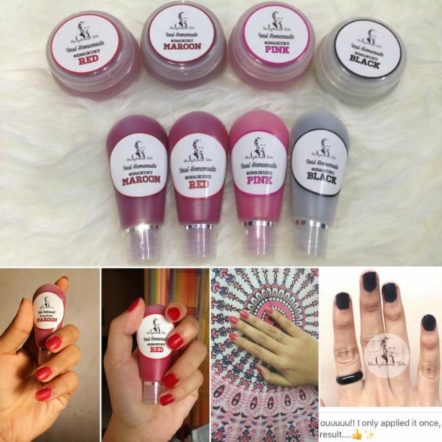 Henna Nail Polish Produk Badan Dan Kecantikan Makeup Di Carousell