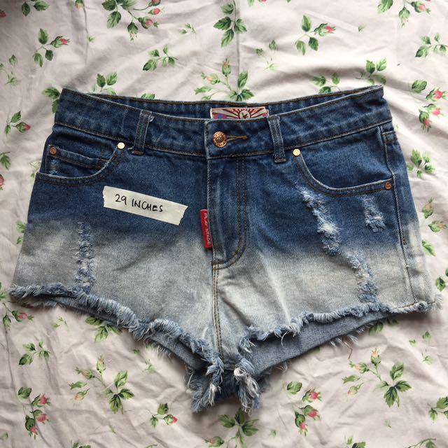High waist korean shorts