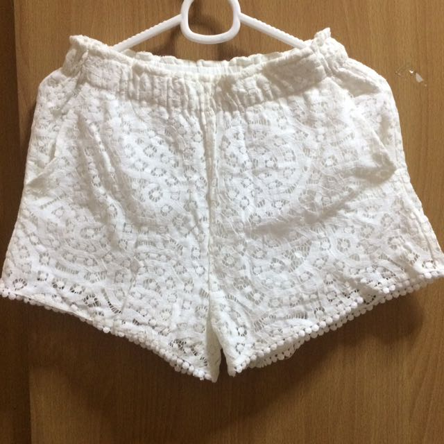 H&M lacey shorts